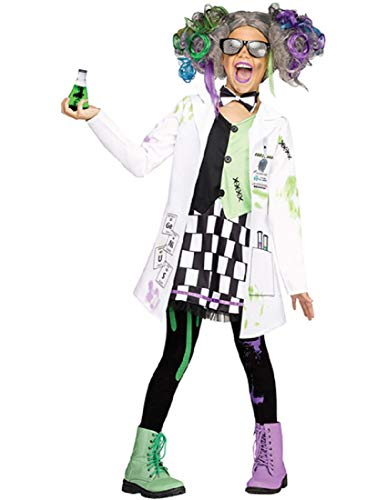 Fun World Mad Scientist Girl Costume, X-Large 14-16,