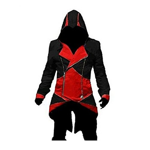 Ainiel Unisex Anime Cosplay Custome Windbreaker Cool Long Sl