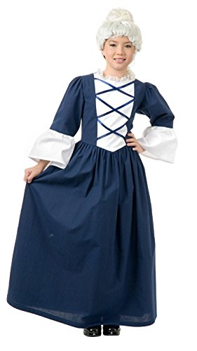 [Martha Washington Costume - Large] (Colonial Dress For Girls Costumes)