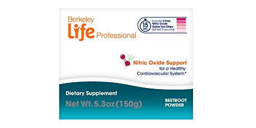 Berkeley Life Professional - Delicious Beetroot Powder - Nitric Oxide Booster & Support Supplement - Support Healthy Circulation & Blood Pressure - 30 Servings by Berkeley Life Professional (Image #3)