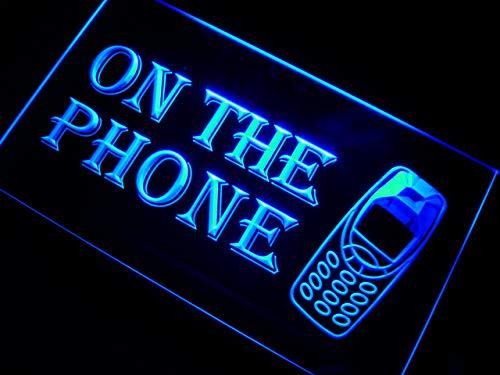 (ADVPRO m100-b On The Phone Neon Light Sign)