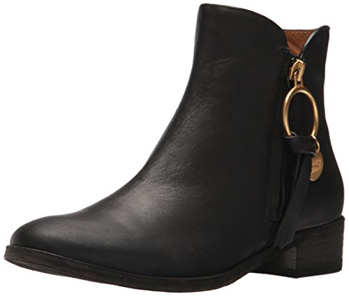 Black Chloe Boot By Ankle See Women's Flat Louise p0Avqg