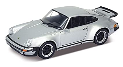 1974 Porsche 911 Turbo 3.0 Silver 1/24 by Welly 24043