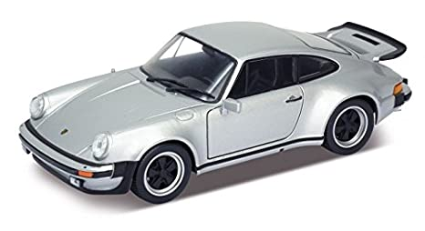 Amazon Com Welly 24043 1974 Porsche 911 Turbo 3 0 Silver 1 24