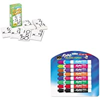 KITCDPCD3930SAN81045 - Value Kit - Carson Dellosa Flash Cards (CDPCD3930) and Expo Low Odor Dry Erase Markers (SAN81045)