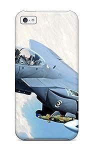 For Iphone 5c Premium Tpu Case Cover F15-strike-eagle Protective Case