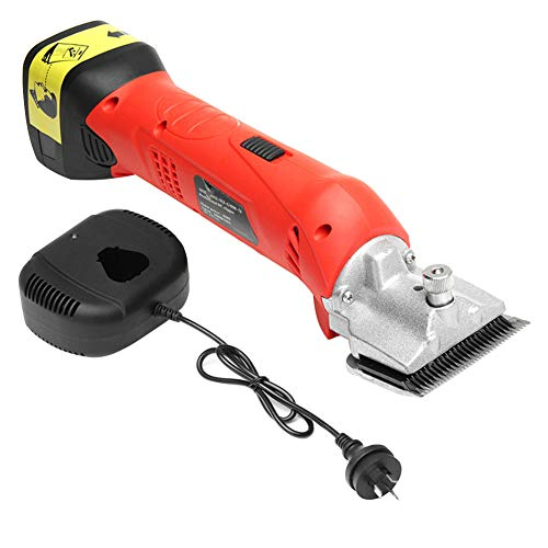 Electric Clippers 450W Horse Hair Shears, Chargeable Grooming Clippers Kit, Heavy Duty Livestock Hair Trimmer, 2500r/min