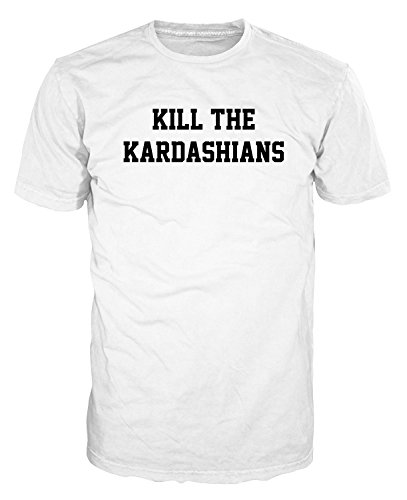 Coddonn Mens Multicolor Cotton Kill The Kardashians Funny T-Shirt (Kardashian-shop Online-uk)