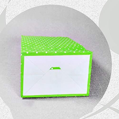 Boca Envolver Bolsas Exquisito Empaque Presentar Polka Fiesta Plana De Cumpleaños Toyvian Dot Unids Caramelo Bolsa Impresiones Regalo Papel 24 Favor 1HqWwfFBE