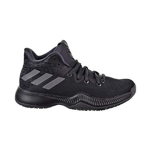 adidas Boys' Mad Bounce J Basketball Shoe, Utility Black/Black/Grey, 6 M US Big Kid