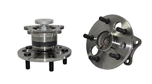 (Both) Rear Wheel Hub and Bearing Assembly Set [Will Only Fit Rear ABS Models] 5-Lug - for [99-03 RX300 FWD] - 92-01 Lexus ES300 - [95-04 Toyota Avalon] - 92-01 (01 Fwd Brake)
