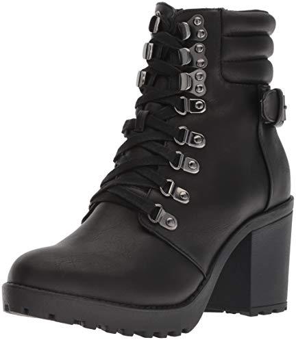MIA Women's Annamaria Ankle Boot, Black, 7 Medium (Mia Shoes Boots)