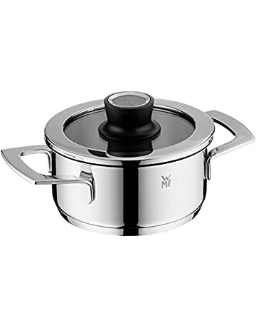 WMF Vario Cuisine-Cacerola Baja 16cm, 1.9 litros, Cromargan, Acero Inoxidable