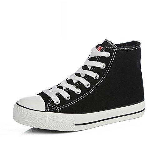 Zapatillas Primavera,Blanco Zapatos Flat-bottom,Estudiante Alta Clásica Pareja Zapatos,Zapatos Deportivos R