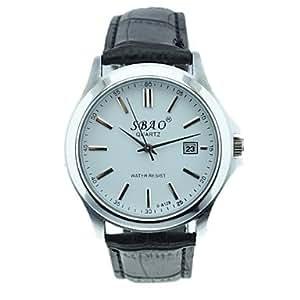 ZA Quartz watch + S - A128 belt belt business (Delivery color random)