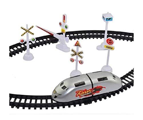 Train Set with Sound Flashing Headlight Educational Toy  Train Sets