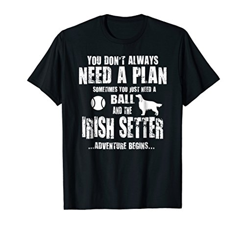 - Irish Setter Gift Idea Irish Setter Dog Lover T shirt