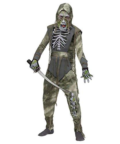 [Zombie Ninja Boys Costume] (Ninja Zombie Costumes Child)