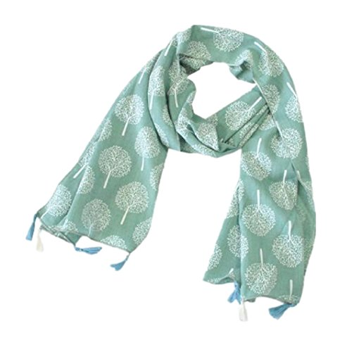 [Muxika Fashion Unisex Kid Cute Four Seasons Soft Cotton Neckerchief Scarf Shawl (green)] (Cute Halloween Gifts For Coworkers)