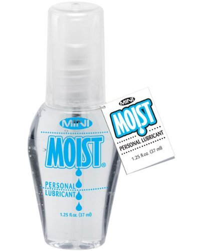 Pipedream Moist Mini MOIST Special Formula Water Based Personal Sex Lube Lubricant [Travel size ]: Size 1.25 Fl Oz / 37 Ml (Moist Lubricant)