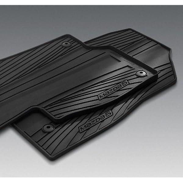 OEM NEW 2014-2019 Mazda 6 Set of 4 Carpet Floor Mats Color Black GJR9-68-G20A-02