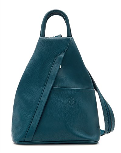 Benagio - Bolso mochila  para mujer Verde azulado oscuro