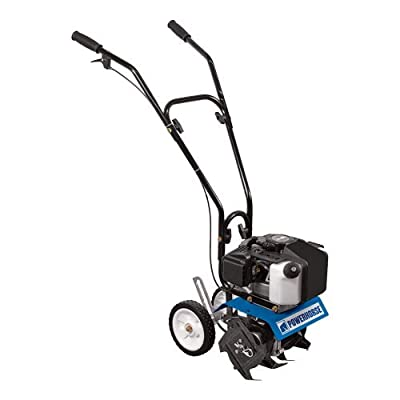 Powerhorse Mini Cultivator - 10in. Tilling Width, 43cc Viper Engine