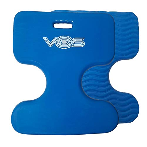(Vos Oasis Premium Water Saddle Floating Pool Toys Lake Summer Water Float Saddle 2 Pack (Bahama Blue))