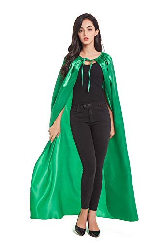 Crizcape Costumes Cape Full Length Adult Halloween Cape Cloak Knight Witches Vampires Royalty Fancy Cosplay -