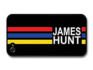 AMAF ? Accessories James Hunt Rush Logo F1 Formula One Driver case for iPhone 4 4S
