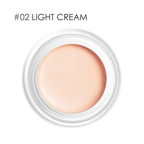 Women BB Cream Concealer Trimming Cover Dark Circles Freckles Acne Cream Base Professional Makeup (Circle Delete Concealer)