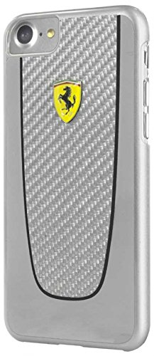 Ferrari Pitstop Case for iPhone 7 and iPhone 8 (Silver)