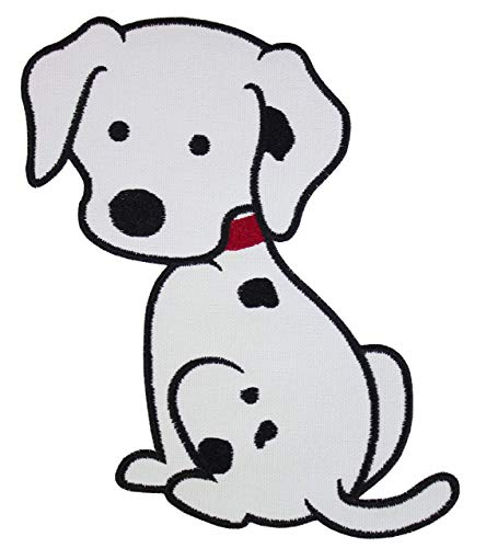 Embroidery Dalmatian (Dalmatian Puppy Patch - Iron on patch)