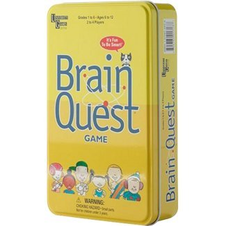 Brain Quest Travel Card
