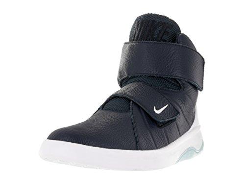 NIKE Men's Marxman Obsidian/Obsidian/White/Ice Basketball Shoe 11.5 Men US ()