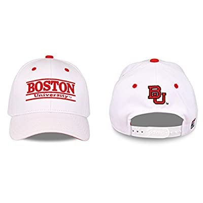Boston Terriers Adult Game Bar Adjustable Hat - White, by The Game