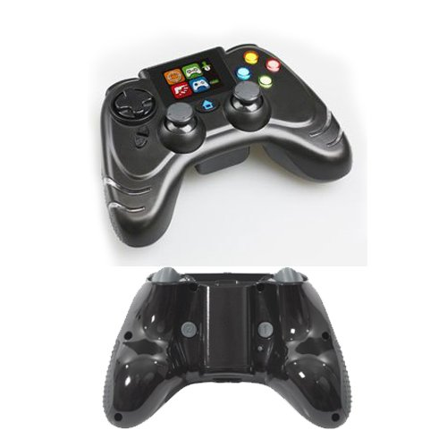 Datel TurboFire Evo Wireless Controller for PS3 with Combat Command LCD Display - Flat Black Datel Controller