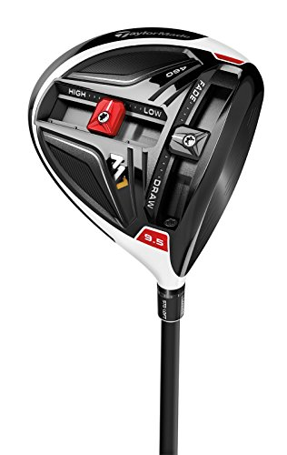 TaylorMade Men's M1 460cc Golf Club Driver, Left Hand, Graphite, Stiff, 10.5 Degree, Mitsubishi (10.5 Stiff Driver)