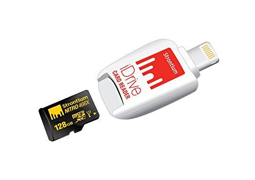Strontium NITRO 128GB Micro SDXC UHS-1 Memory Card with i...