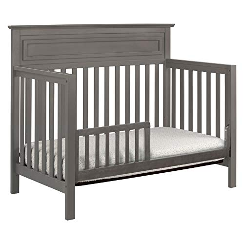 41hnVDyJCSL - DaVinci Autumn 4-in-1 Convertible Crib In Slate, Greenguard Gold Certified