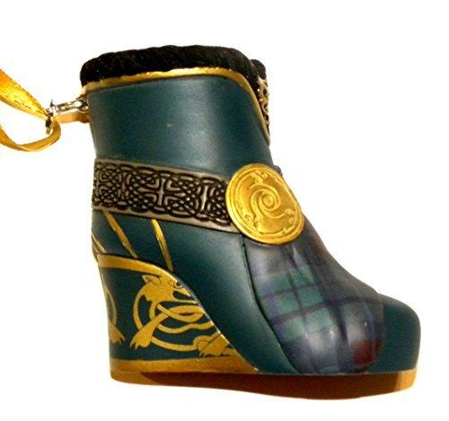 Disney World WDW Park 2015 Runway Princess Merida Brave Boot Shoe Slipper Christmas Ornament