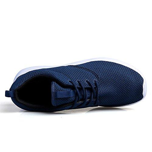 BRKVALIT Herren Damen Laufschuhe Sportschuhe Freizeit Turnschuhe Sneaker Breathable Mesh Leichtgewicht Athletic Schuhe