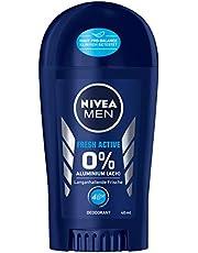 NIVEA MEN Fresh Active Deo Pen (40 ml), dezodorant bez aluminium (ACH) z odświeżającą formułą, dezodorant w sztyfcie z ochroną 48h pielęgnuje skórę