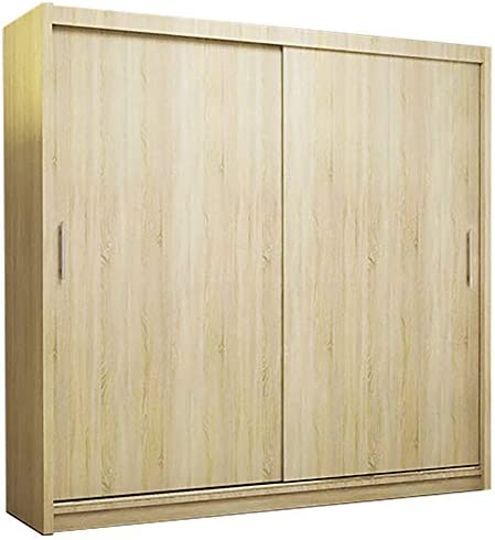 Ye Perfect Choice Nuevo moderno armario Ava 2 puertas correderas dormitorio armario ancho 180 cm/5,9 m: Amazon.es: Hogar