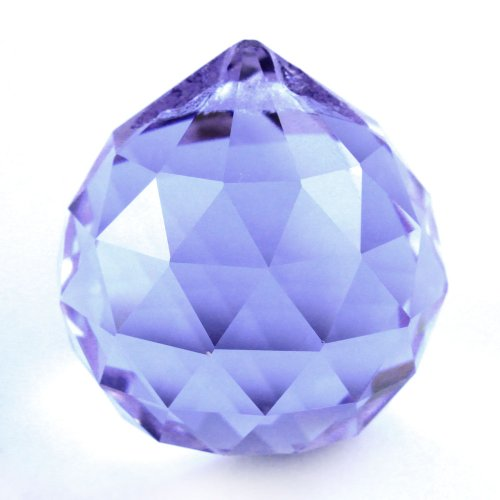 Umiwe(TM) Exquisite Adornment Clear Crystal Prisms Ball Pendant With Umiwe Accessory Peeler