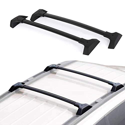 ALAVENTE Roof Rack CrossBars for 2009-2017 Chevrolet Traverse (with Factory Raised Side Rails)