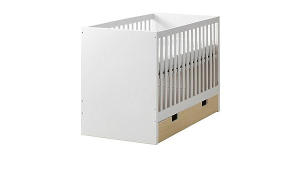 Ikea STUVA - Cuna con cajones, Abedul - 60x120 cm: Amazon ...