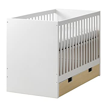 Wundervoll Ikea Crib With Drawers, Birch 16202.11814.1810
