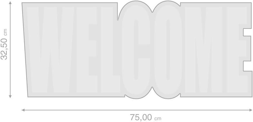 Balvi/Paillasson/Welcome//Caoutchouc//Nylon/34/x/75/cm