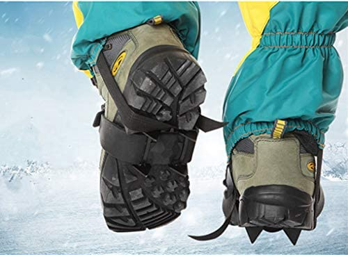Toasis Ice Claws Snow Grips Spikes Crampons Traction Cleats for Shoes Boots